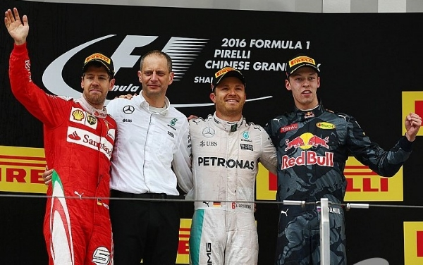 Rosberg vence o GP da China - (FOTO: MotorSport.com)