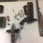Polícia Civil apreendeu quase 90 munições e realizou prisões em Caraúbas