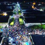 Imagem: Segunda-feira de carnaval com um mar de gente nas ruas de Caicó
