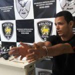 Defur prende integrante de grupo que realizou roubos em residências de Capim Macio