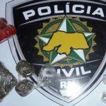 Denarc de Mossoró prende suspeito por tráfico de drogas