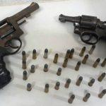 Força Tarefa faz revista no pavilhão 1 de Alcaçuz e acha duas armas e cerca de 100 celulares