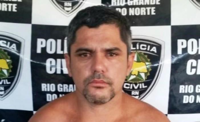 José Ivanilson foi preso em São João do Sabugi em 2016
