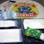 PF prende homens com 3 quilos de cocaína no aeroporto de Natal