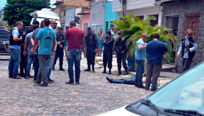 Policiais mortos estavam, na grande maioria, fora do horário de trabalho Foto Magno Nascimento Tribuna do Norte