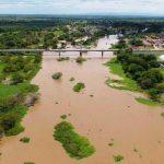 Imagem: Rio Piranhas com bom volume de água neste domingo (19)