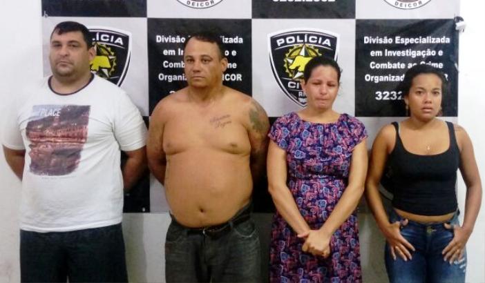 Rodrigo, Leandro, Maria de Fátima e Joyce