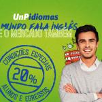 UnP Idiomas lança novas vagas e abre inscrições para curso de inglês