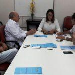 Vivaldo leva prefeito de São Fernando para audiência na SETHAS e reivindica pleitos