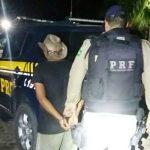 PRF captura mais um foragido da justiça