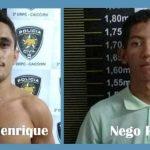 Dois são presos acusados de roubo em Caicó