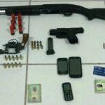 Operação apreende armas e prende 4 em Natal