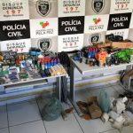 Arsenal é flagrado em loja de caça no Seridó da Paraíba durante operação da Polícia