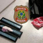PF prende estudante com 5,6 quilos de ecstasy no aeroporto de Natal