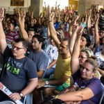 Professores decidem em assembleia suspender greve geral da educação do RN