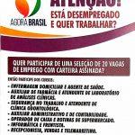 """Inscrições para cursos do projeto """"Agora Brasil"""" seguem até sexta-feira (12) em Caicó"""
