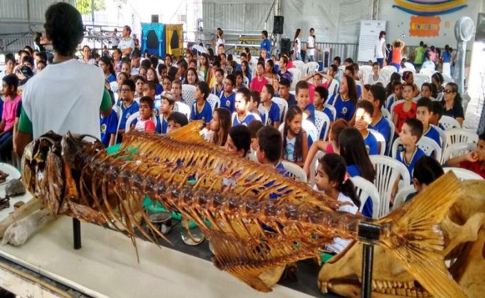 Caravana Ecológica acontece na Ilha de Sant'Ana em Caicó