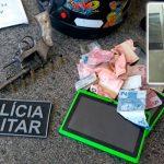 PM prende ex-presidiário roubando em loja de importados em Caicó