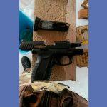 Caicó: Polícia apreende pistola com numeração raspada na casa de foragido da Justiça