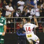 São Paulo vence clássico paulista com Palmeiras
