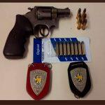 Polícia Civil apreende arma e munições em residência na cidade de Caicó