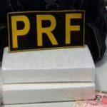 Auxiliar de pedreiro é preso pela PRF com dois quilos de cocaína em Santa Rita/PB