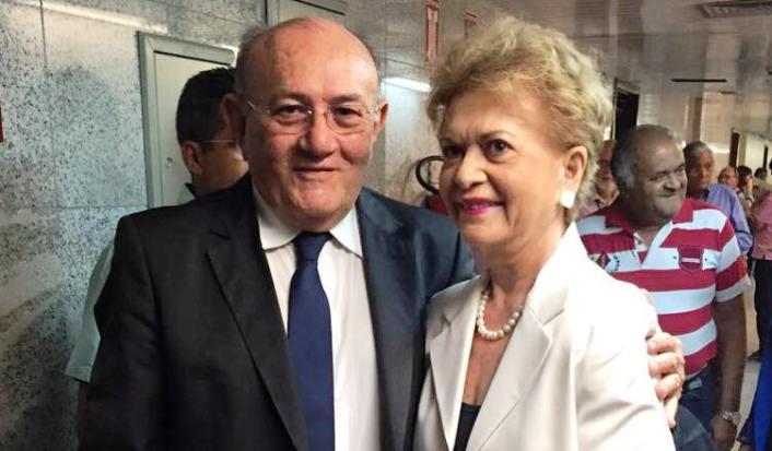 Deputado Vivaldo Costa homenageia Wilma de Faria