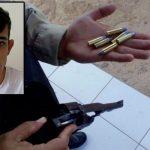 Polícia prende parelhense com arma de fogo, munições, drogas e moto roubada