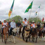 Cavalgada de Sant'Ana marcou domingo em Caicó
