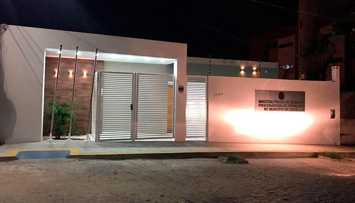 e8421cb0666d3 Nova sede do Ministério Público do Trabalho será inaugurada nesta  quinta-feira – (Foto  Willacy Dantas)