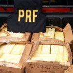 PRF apreende 125 quilos de queijo impróprio para o consumo humano
