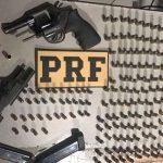 Homem é preso em São José de Mipibu com armas e munições