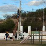 Cosern cortou energia da Ilha, Praça do Rosário, Escolas, Prefeitura, Açougue entre outros