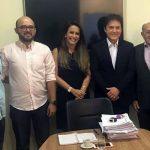 Vivaldo recebe vereador de Florânia e juntos participam de audiências buscando melhorias para município