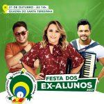 Evan & Forró do Namoro, Naldinho Cunha e Solange Silva vão animar Festa do Ex-Aluno do Santa Teresinha