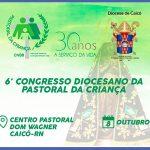 Pastoral da Criança comemora 30 anos de atuação na Diocese de Caicó