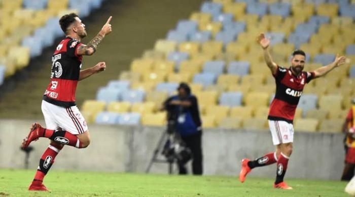 Vizeu masrcou golaço na virada do Flamengo sobre o Júnior